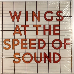 42. WINGS-AT THE SPEED OF SOUND-1976-ПЕРВЫЙ ПРЕСС USA-CAPITOL-NMINT/NMINT