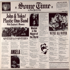 23. LENNON, JOHN & YOKO ONO-SOME TIME IN NEW YORK CITY-1972-ПЕРВЫЙ ПРЕСС UK-APPLE-NMINT/NMINT