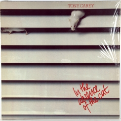 31. CAREY, TONY (EX RAINBOW)-IN THE ABSENCE OF THE CAT-1982-первый пресс germany-x records-nmint/nmint