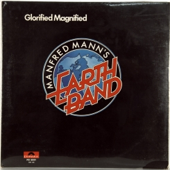 38. MANFRED MANN'S EARTH BAND-GLORIFIED MAGNIFIED-1972-ПЕРВЫЙ ПРЕСС USA-POLYDOR-NMINT/NMINT