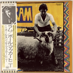 38. MCCARTNEY, PAUL -RAM-1973-ВТОРОЙ ПРЕСС 1975 -JAPAN+OBI-APPLE-NMINT/NMINT-NMINT/NMINT