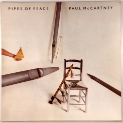 46. MCCARTNEY, PAUL-PIPES OF PEACE-1983-ПЕРВЫЙ ПРЕСС UK-PARLOPHONE-NMINT/NMINT