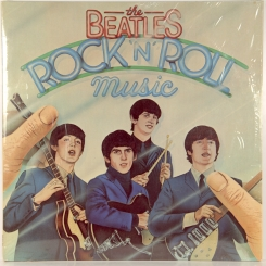 17. BEATLES-ROCK'N'ROLL MUSIC-1976-ПЕРВЫЙ ПРЕСС UK-PARLOPHONE-NMINT-NMINT