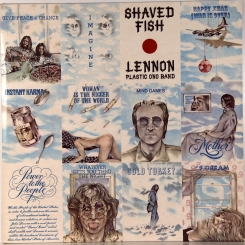 27. LENNON, JOHN (PLASTIC ONO BAND)-SHAVED FISH-1974-ПЕРВЫЙ ПРЕСС UK-APPLE-NMINT/NMINT
