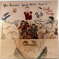 25. LENNON, JOHN,WALLS & BRIDGES-1974-ПЕРВЫЙ ПРЕСС UK-APPLE-NMINT/NMINT