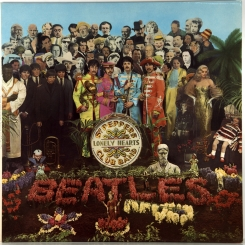 6. BEATLES-SGT PEPPER'S LONELY HEARTS CLUB BAND-1967-6(ШЕСТОЕ) ИЗДАНИЕ(СТЕРЕО)1976- UK- PARLOPHONE-NMINT/NMINT