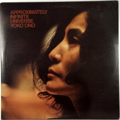 22. LENNON & YOKO ONO/PLASRIC ONO BAND-APPROXIMATELY INFINITE UNIVERSE-1973-ПЕРВЫЙ ПРЕСС UK-APPLE-NMINT/NMINT