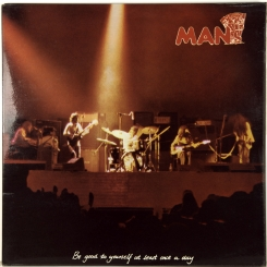 23. MAN-BE GOOD TO YOURSELF AT LEAST ONCE A DAY-1972-FIRST PRESS UK-UNITED ARTISTS-NMINT/NMINT