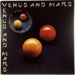 40. WINGS-VENUS AND MARS-1975-ПЕРВЫЙ ПРЕСС UK-CAPITOL-NMINT/NMINT