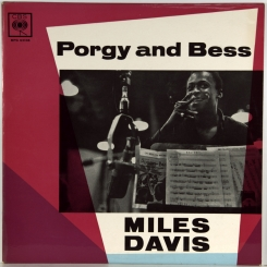 266. DAVIS, MILES-PORGY AND BESS-1958-ОРИГИНАЛЬНЫЙ ПРЕСС(МОНО) 1963 UK-CBS-NMINT/NMINT