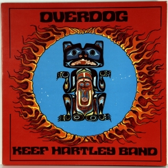 14. KEEF HARTLEY BAND-OVERDOG-1971-ПЕРВЫЙ ПРЕСС UK-DERAM-NMINT/ARCHIVE