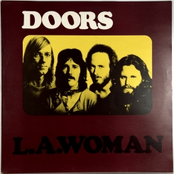 8. DOORS-L.A.WOMAN-1971-ORIGINAL PRESS 1976 UK-ELEKTRA-NMINT/NMINT