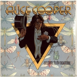 ALICE COOPER-WELCOME TO MY NIGHTMARE-1975-ПЕРВЫЙ ПРЕСС USA-ATLANTIC-NMINT/NMINT