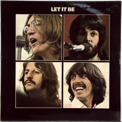 17. BEATLES-LET IT BE-1970-ЧЕТВЕРТЫЙ ПРЕСС 1976 UK-APPLE-NMINT/NMINT