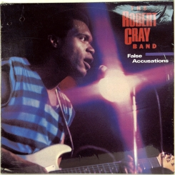 34. ROBERT CRAY BAND-FALSE ACCUSATIONS-1985-ПЕРВЫЙ ПРЕСС AUSTRALIA-CENTRE-NMINT/NMINT