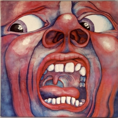 42. KING CRIMSON- IN THE COURT OF THE CRIMSON KING-1969-ORIGINAL PRESS 1975-HOLLAND-ISLAND-NMINT/NMINT