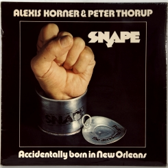 8. ALEXIS KORNER & PETER THORUP-ACCIDENTALLY BORN IN NEW ORLEANS-1973-ПЕРВЫЙ ПРЕСС UK-TRANSATLANTIC-NMINT/NMINT