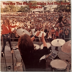 27. TRAPEZE-YOU ARE THE MUSIC...WE'RE JUST THE BAND-1972-FIRST PRESS- UK-THRESHOLD-NMINT/NMINT