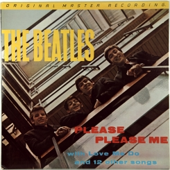 29. BEATLES-PLEASE PLEASE ME (HALFSPEED MASTERED)-1963-ПЕРЕИЗДАНИЕ 1981 USA-MOBILE FIDELITY SOUND LAB-NMINT/NMINT