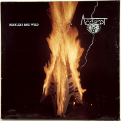 96. ACCEPT-RESTLESS AND WILD-1982-ПЕРВЫЙ ПРЕСС GERMANY-BRAIN-NMINT/NMINT