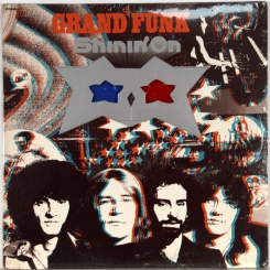 49. GRAND FUNK RAILROAD SHININ' ON-1974-ПЕРВЫЙ ПРЕСС USA-CAPITOL-NMINT/NMINT