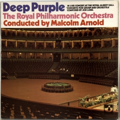 68. DEEP PURPLE & THE ROYAL PHILHARMONIC ORCHESTRA, MALCOLM ARNOLD-CONCERTO FOR GROUP AND ORCHESTRA-1970-FIRST PRESS UK-HARVEST-NMINT/NMINT