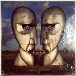 19. PINK FLOYD-DIVISION BELL (STICKER!!!! BLUE VINYL)-1994-FIRST PRESS USA-COLUMBIA-NMINT/NMINT