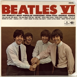 28. BEATLES-BEATLES VI (STEREO)-1966-FIRST PRESS(PROMO EXPORT) UK-PARLOPHONE-ARCHIVE!