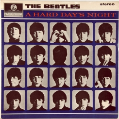 9. BEATLES-A HARD DAY'S NIGHT (STEREO)-1964 ПЕРВЫЙ ПРЕСС UK-PARLOPHONE-NMINT/NMINT