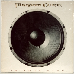 123. KINGDOM COME-IN YOUR FACE-1989-ПЕРВЫЙ ПРЕСС UK-POLYDOR-NMINT/NMINT