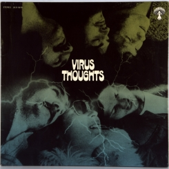 24. VIRUS-THOUGHTS-1971-ПЕРВЫЙ ПРЕСС GERMANY-PILZ-NMINT/NMINT