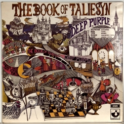 91. DEEP PURPLE-BOOK OF TALIESYN-1968-ВТОРОЙ ПРЕСС UK-HARVEST-NMINT/NMINT