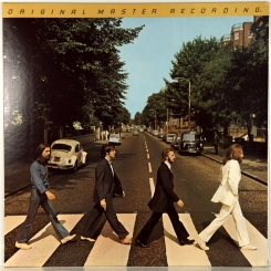 36. BEATLES-ABBEY ROAD 1969 (HALFSPEED)-ПЕРЕИЗДАНИЕ 1979 USA-MOBILE FIDELITY SOUND LAB-NMINT/NMINT
