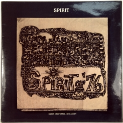27. SPIRIT- SPIRIT OF '76-1975-ПЕРВЫЙ ПРЕСС UK-MERCURY-NMINT/NMINT