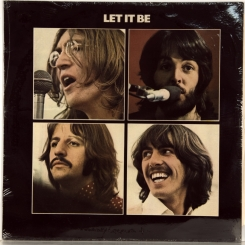 16. BEATLES-LET IT BE-1970-ВТОРОЙ ПРЕСС 1970 UK-APPLE-NMINT/NMINT
