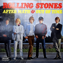 8. ROLLING STONES-AFTER MATH & OUT OF TIME-1967-FIRST PRESS GERMANY-DECCA-NMINT/NMINT