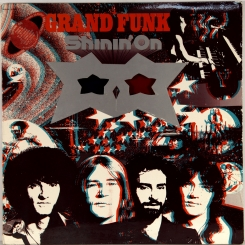 37. GRAND FUNK RAILROAD SHININ' ON-1974-ПЕРВЫЙ ПРЕСС UK-CAPITOL-NMINT/NMINT