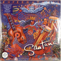 1. SANTANA-SUPERNATURAL-2000-FIRST PRESS UK/EU-ARISTA-NMINT/NMINT