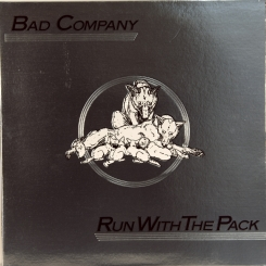 34. BAD COMPANY-RUN WITH THE PACK-1976-ПЕРВЫЙ ПРЕСС USA-SWAN SONG-NMINT/NMINT