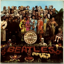 120. BEATLES-SGT. PEPPER'S LONELY HEARTS CLUB BAND (STEREO)-1967-ПЕРВЫЙ ПРЕСС UK-PARLOPHONE-NMINT/NMINT