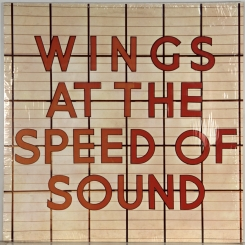 57. WINGS-AT THE SPEED OF SOUND-1976-ПЕРВЫЙ ПРЕСС GERMANY-MPL-NMINT/NMINT