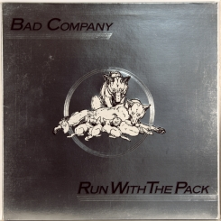 22. BAD COMPANY-RUN WITH THE PACK-1976-FIRST PRESS UK-ISLAND-NMINT/NMINT