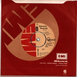 115. ЛОТ 3 SINGLE'S-QUEEN-UK/EU -NMINT/NMINT