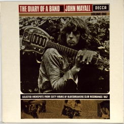 17. MAYALL, JOHN-DIARY OF A BAND( VOLUME ONE)-1968-ОРИГИНАЛЬНЫЙ ПРЕСС 1969 UK-DECCA-NMINT/NMINT