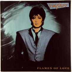 144. FANCY-FLAMES OF LOVE-1988-FIRST PRESS GERMANY-METRONOME-NMINT/NMINT