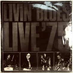 41. LIVIN' BLUES-LIVE'75-1975-FIRST PRESS HOLLAND-ARIOLA-NMINT/NMINT