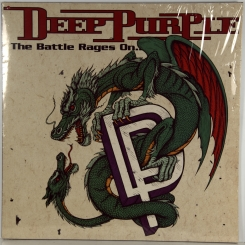106. DEEP PURPLE-BATTLE RAGES ON...-1993-ПЕРВЫЙ ПРЕСС UK/EU-HOLLAND-RCA-NMINT/NMINT