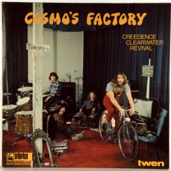 10. CREEDENCE CLEARWATER REVIVAL-COSMO'S FACTORY-1970-FIST PRESS GERMANY-BELLAPHON-NMINT/NMINT