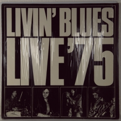 39. LIVIN' BLUES-LIVE'75-1975-fist press germany-ariola-nmint/nmint