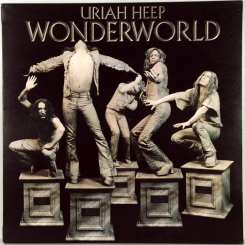 87. URIAH HEEP-WONDERWORLD-1974-ПЕРВЫЙ ПРЕСС UK-BRONZE-NMINT/NMINT